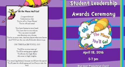 Student Leaders Honored