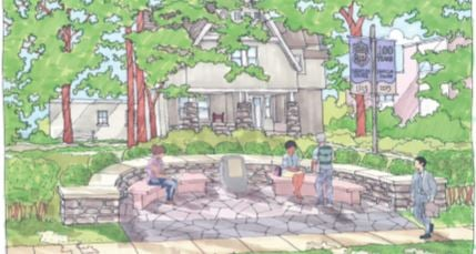 Tribute Garden Will Grace Bryn Mawr Campus