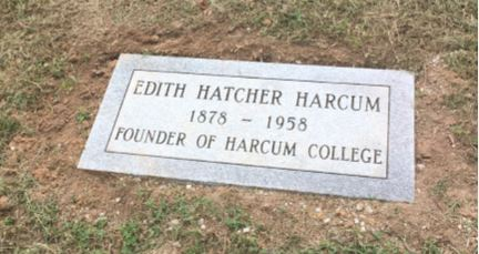 Honoring Edith Harcum's Final Resting Place