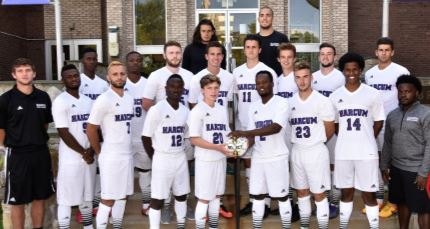 Men's 2016-17 Soccer Team is Academic Team of the Year