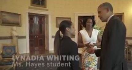 Basketball Recruit Visits White House