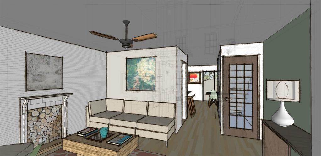 Sketch up interior design sketchup for interior design for Minimalist house sketchup