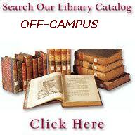 Search the Library Catalog from off-campus.