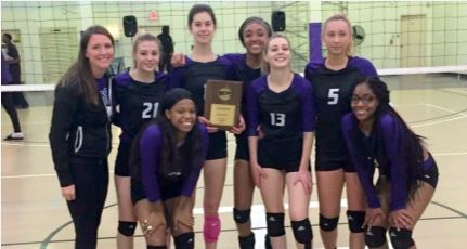 Volleyball Team District L Champions